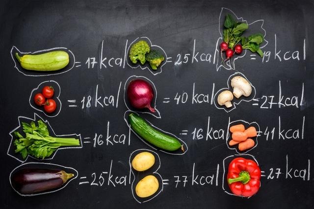 calorias de la verdura