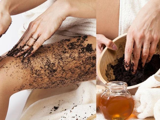 utiliza café para exfoliar tu piel