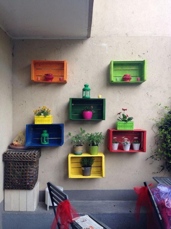 cajas de madera para exterior