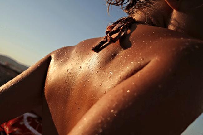 el sol mejora el color de la piel