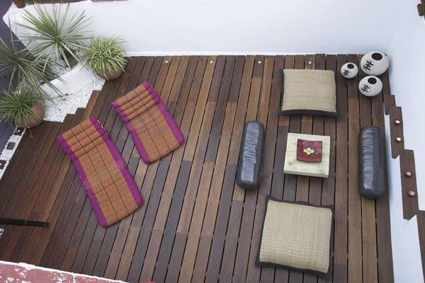 terraza asiatica