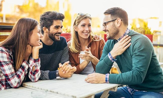 apoyarse en los amigos es una gran elección, ellos te ayudarán.