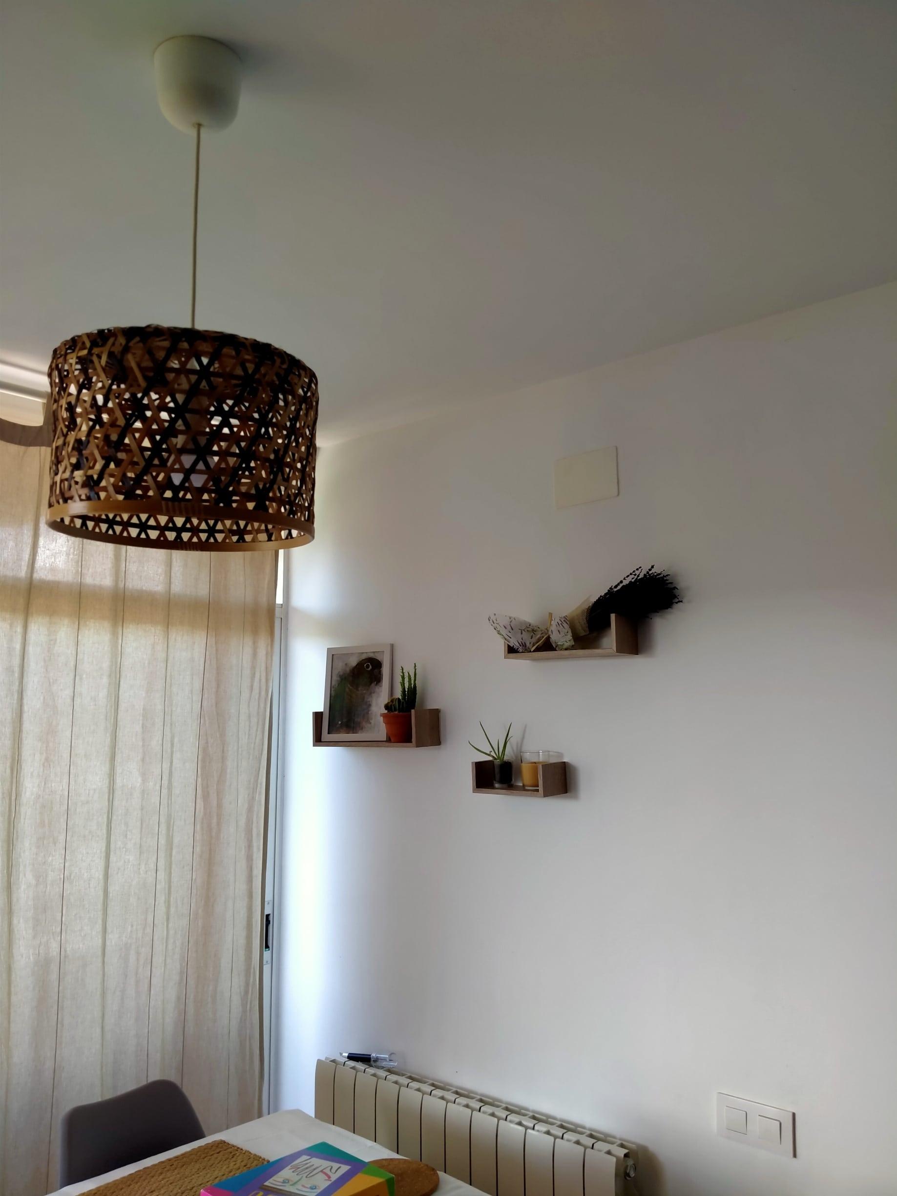 Mejoramos una lámpara del Ikea por muy poco dinero
